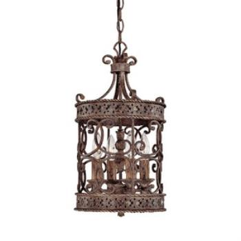 Squire - Four Light Foyer - 9023CU