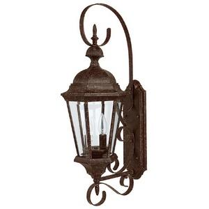 Carriage House - Two Light Outdoor Wall Mount