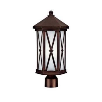 Saxton - One Light Outdoor Post Mount - 9876BB-GU