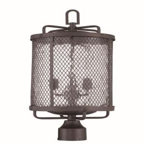 Blacksmith - Three Light Outdoor Post Lantern