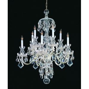 Traditional Crystal - Ten Light Chandelier
