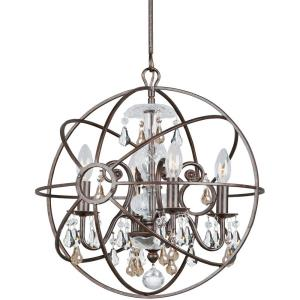 Solaris - Four Light Mini Chandelier