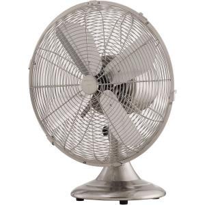 "Retro Breeze - 16.4"" Oscillating Portable Fan"