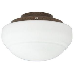Accessory - Low Profile Fan Light Kit Round Glass