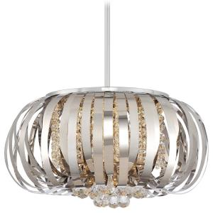 "Woven Gems - 19"" 40W 1 LED Pendant"
