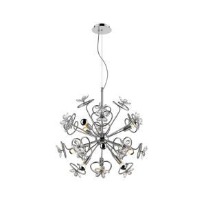 Flora - Nine Light Pendant