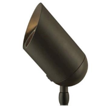 One Light Outdoor Spot Lamp - 1537BZ