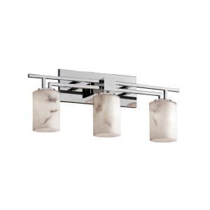 "LumenAria - 26"" Three Light Bath Bar"
