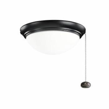 Two Light Large Low Profile Fan Kit - 380120SBK