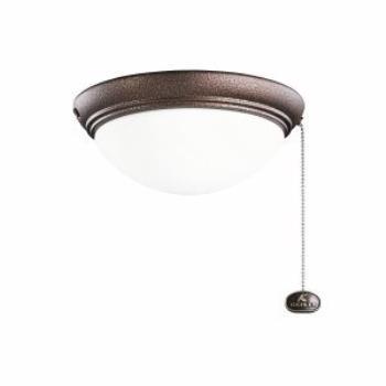 Two Light Large Low Profile Fan Kit - 380120WCP