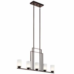 Harvey - Five Light Linear Chandelier