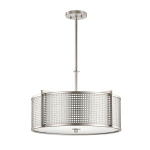 Perforated - Four Light Pendant