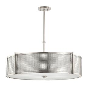 Perforated - Five Light Pendant