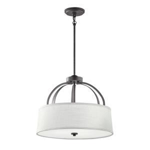 Lodge - Three Light Convertible Pendant