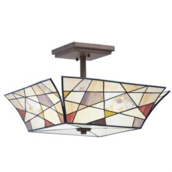Three Light Semi-Flush Mount - 69159