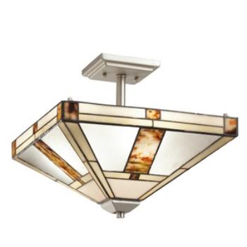 Bryce - Three Light Semi-Flush Mount - 69164