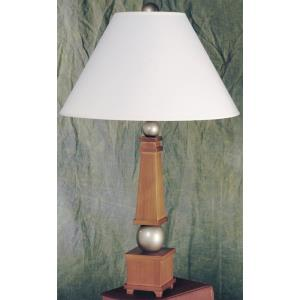 York - One Light Wood Table Lamp