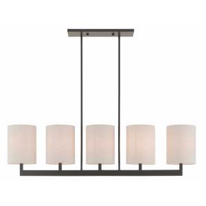 Hayworth - Five Light Linear Chandelier