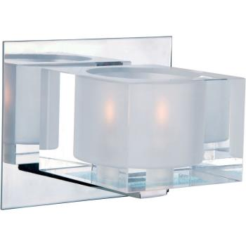 Cubic - One Light Bath Vanity - 10001CLPC