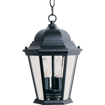 Westlake - Three Light Outdoor Hanging Lantern - 1009BK