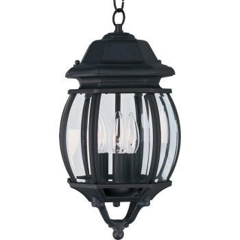 3 Light Ext Pendant - 1036BK