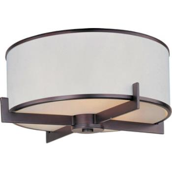 Nexus - Three Light Flush Mount - 12050WTOI