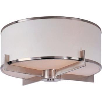 Nexus - Three Light Flush Mount - 12050WTSN