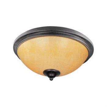 Luminous 2-light Flush Mount - 21140SCRE