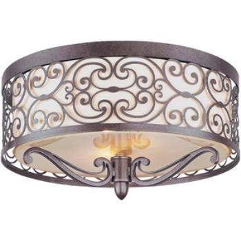 Mondrian - Two Light Flush Mount - 21151WHUB