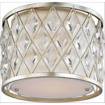 Diamond - One Light Flush Mount - 21451OFGS