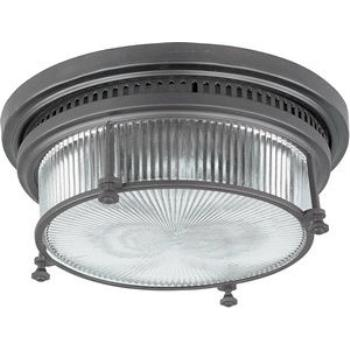 Hi-Bay - Two Light Flush Mount - 25000CLBZ