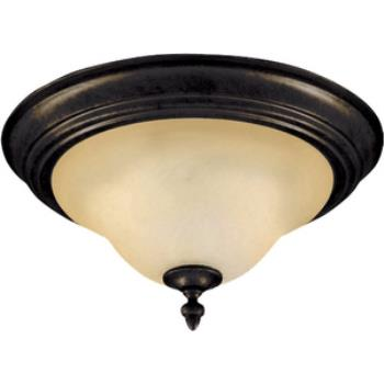 Pacific - Two Light Flush Mount - 2650WSKB