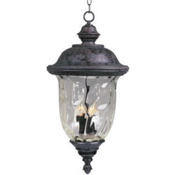 Carriage House Dc 3 Light Pendan - 3427WGOB