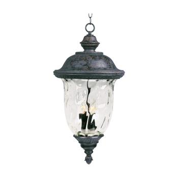 Carriage House Dc 3 Light Pendan - 3428WGOB