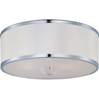 Metro - Three Light Flush Mount - 39821BCWTPC