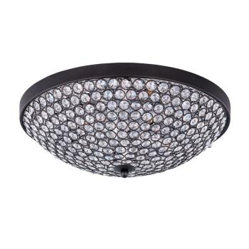 Glimmer - Four Light Flush Mount - 39871BCBZ