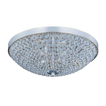 Glimmer - Four Light Flush Mount - 39871BCPS