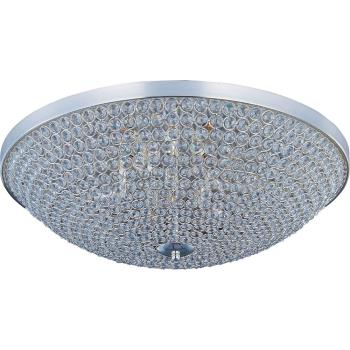Glimmer - Six Light Flush Mount - 39872BCPS