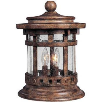 Santa Barbara Vx 3-light Outdoor Deck Lantern - 40032CDSE