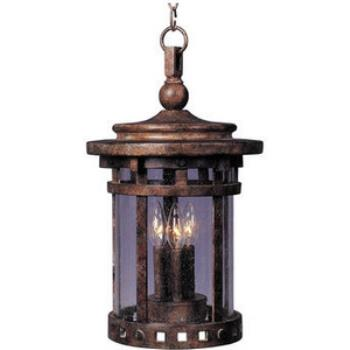 Santa Barbara Vx 3-light Outdoor Hanging Lantern - 40038CDSE