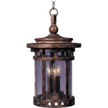 Santa Barbara Vx 3-light Outdoor Hanging Lantern - 40039CDSE