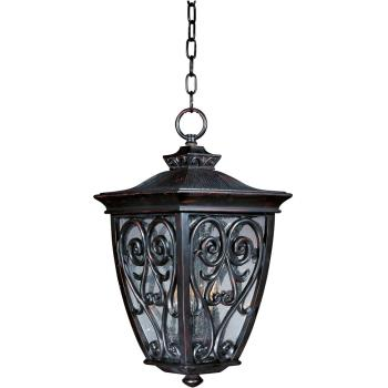 Newbury Vx 3-light Outdoor Hanging Lantern - 40128CDOB