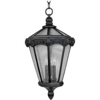 Essex Vx 3-light Outdoor Hanging Lantern - 40261CDOB