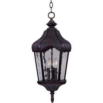 Garden Vx 3-light Outdoor Hanging Lantern - 40279WGOB