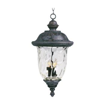 Carriage House Vx 3-light Outdoor Hanging Lantern - 40427WGOB