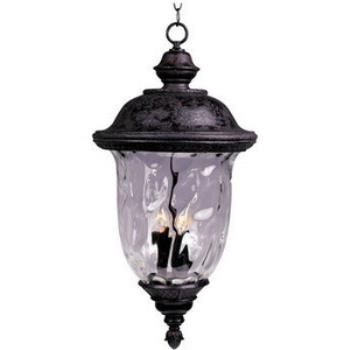 Carriage House Vx 3-light Outdoor Hanging Lantern - 40428WGOB