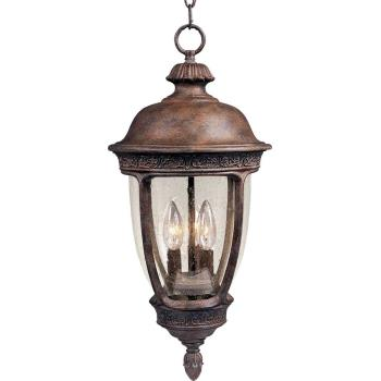 Knob Hill Vx 3-light Outdoor Hanging Lantern - 40467CDSE