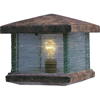 Triumph Vx 1-light Outdoor Deck Lantern - 48736CLET