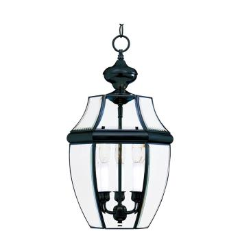 3 Light Pendant Outdoor - 6095CLBK