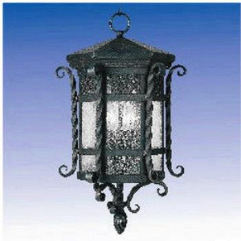 Forged Iron 3 Light Pendant - 30128CDCF